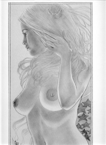 Nude: Signed and numbered print by Steve Woron.....$15.00 Partial image